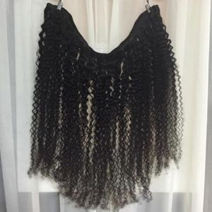 """22"""" Inch Natural Curly Virgin Remy Human Hair"""